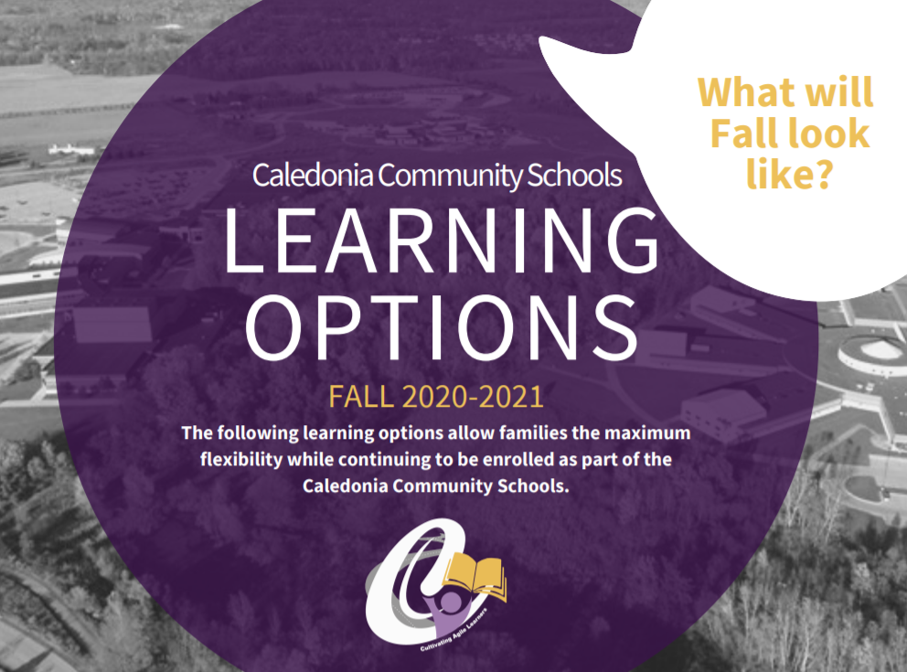 Fall Learning Options Graphic