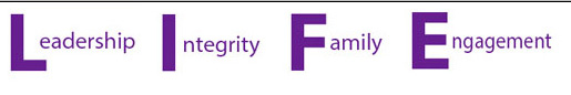 Leadership Integrity Family Engagement logo