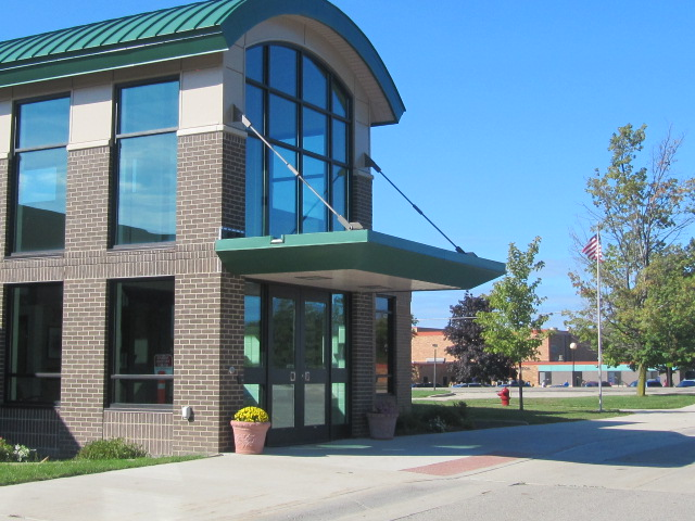 Caledonia Elementary Front Entry
