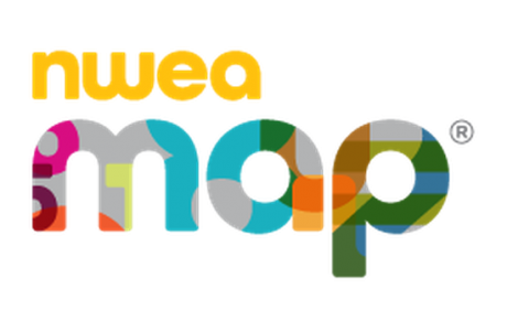 Image of NWEA / MAP logo used as a link to access testing site