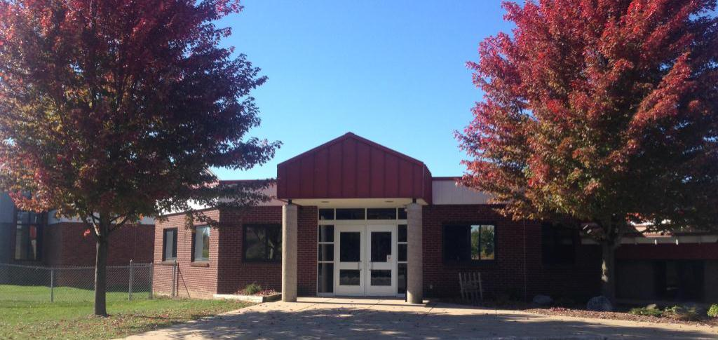 Dutton Elementary Office Entrance