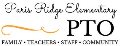 Image of the Paris Ridge Elementary PTO logo