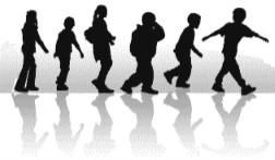 Image of Walking Kids