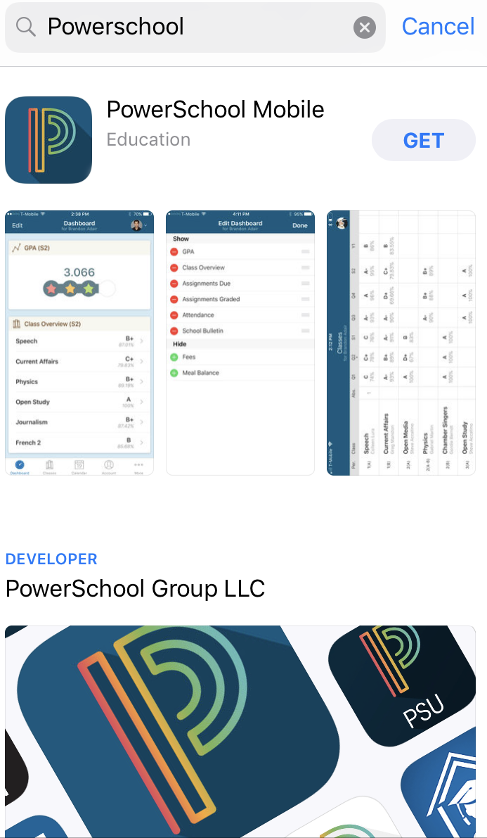 Power School Mobile
